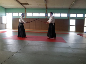 Bruno et Thierry au Shinken